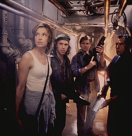 Deep Rising 1998 monster sci-fi movie cast