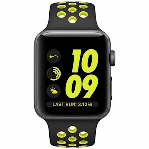 Jam Tangan Apple Watch Nike+ Sport Black Volt