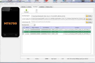 (Tested 100% Sukses) Bypass Oppo F1s Dengan Mudah Via Sp Flashtool