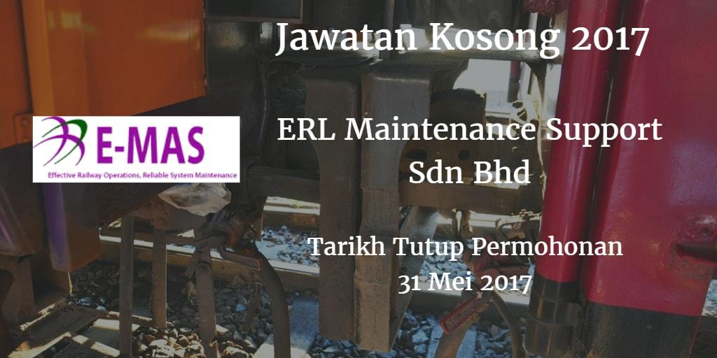 Jawatan Kosong E-MAS 31 Mei 2017