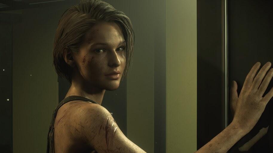 1280x2120 Jill Valentine Resident Evil 3 4k Artwork iPhone