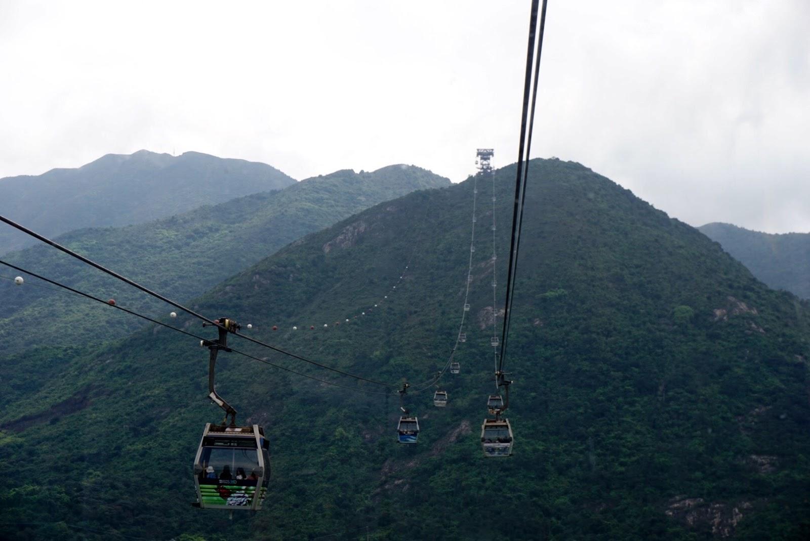 Hong Kong travel diary blog vlog ngong ping 360