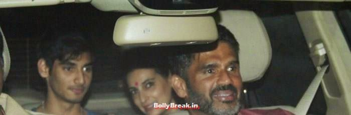 Sunil Shetty, Celebs clicked at 'Kick' Special Screening at Yash Raj Studios