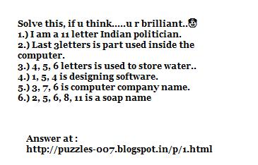 Puzzles 007 1