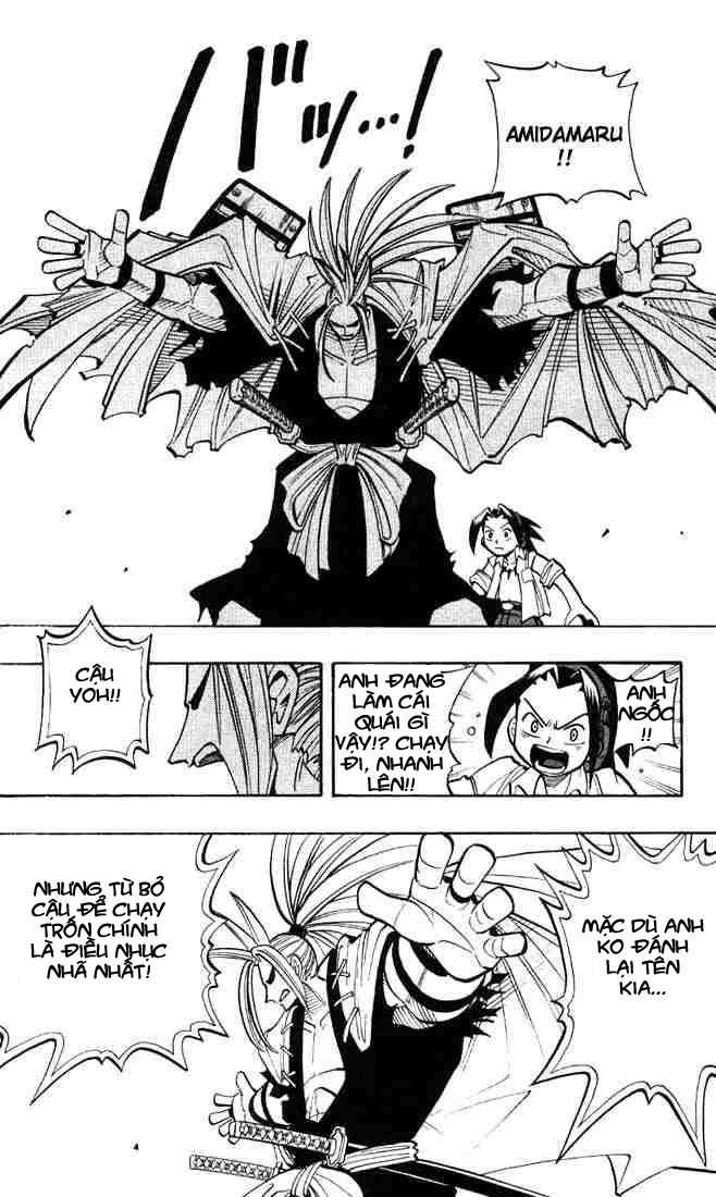 Shaman King [Vua pháp thuật] chap 8 trang 13