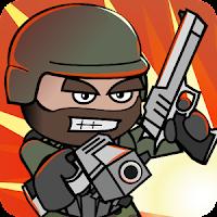 اشغل وقت فراغك الان مع لعبة  Dooble Army 2 : mini militia