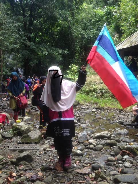 Terokai Lahad Datu Kembara Air Terjun Hutan Taliwas Trail 5.5KM Sempena Hari Malaysia Ke-54