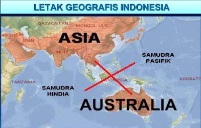 Posisi Silang Negara Indonesia