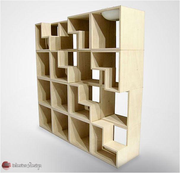 70 Best Bookshelf Designs 49