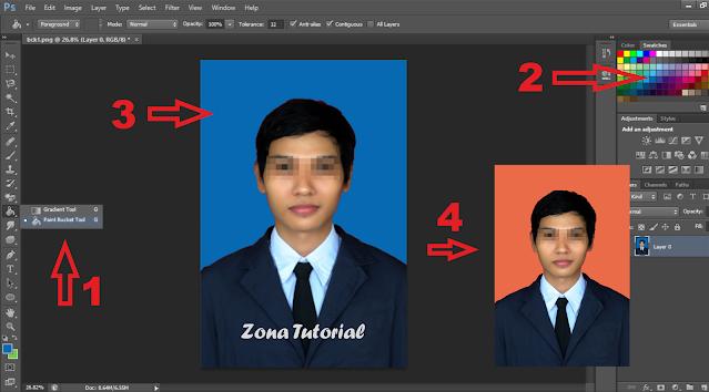 2 Cara Mengganti Warna Background Foto di Photoshop