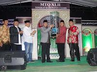 Kecamatan Kawali Juara Umum MTQ XLII Tk. Kabupaten Ciamis