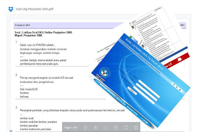 Free Download Kisi Kisi UKG 2015 Guru SD Kelas Rendah, Kelas Tinggi, dan Penjaskes SD dan Kumpulan Soal Latihan UKG 2015 SMA Semua Mata Pelajaran