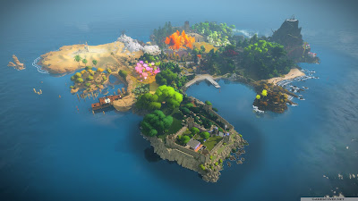 The Witness Latest Desktop HD Wallpaper 1920x1080