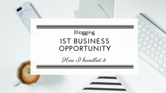 How to handle business /  collaboration opportunities in blogging.