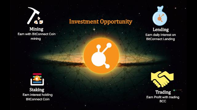 Phân phối Bitconnect ra thị trường