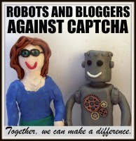 Robots and bloggers against CAPTCHA