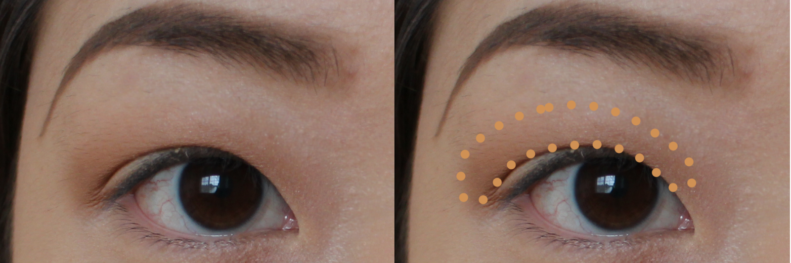 Soft Pink And Brown Halo Eye Makeup Tutorial A Blog By Lianna