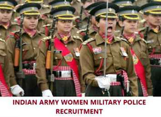 Indian Army Jobs: 100 Soldier GD (Women Military Police) Posts