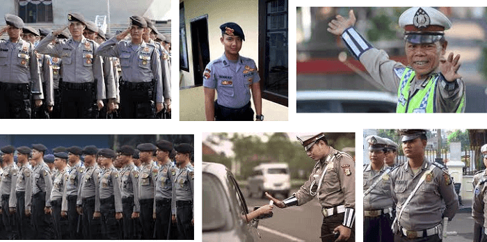 gaji polisi 2018 naik