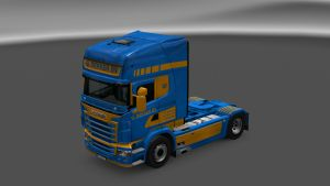 G Dekker BV Dutch Skin for Scania RJL