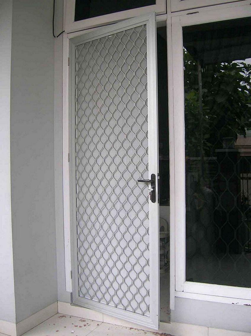 pintu aluminium anti nyamuk 4