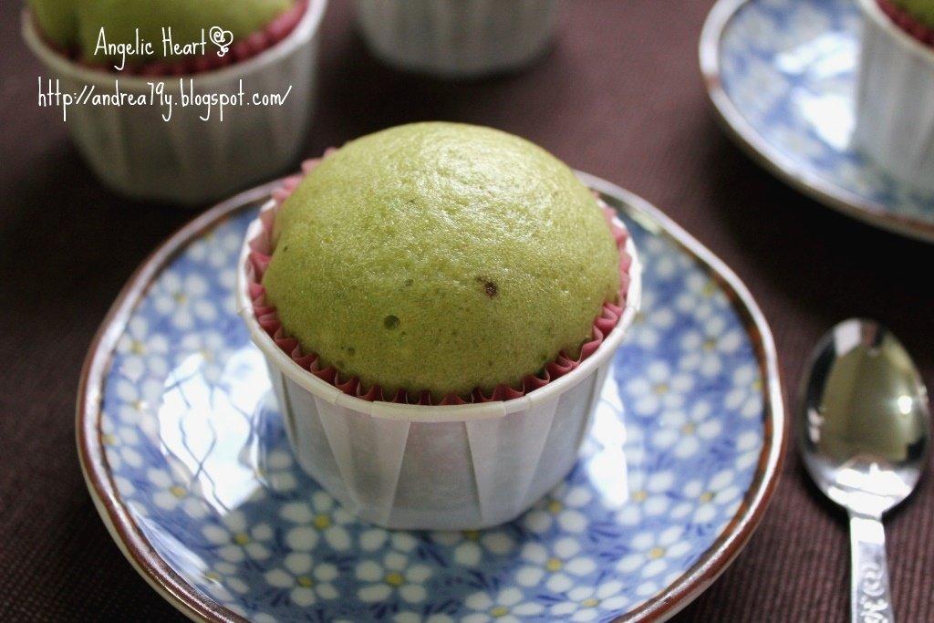 啟動生命的旋律: 日式綠茶蒸蛋糕 Mushi Pan