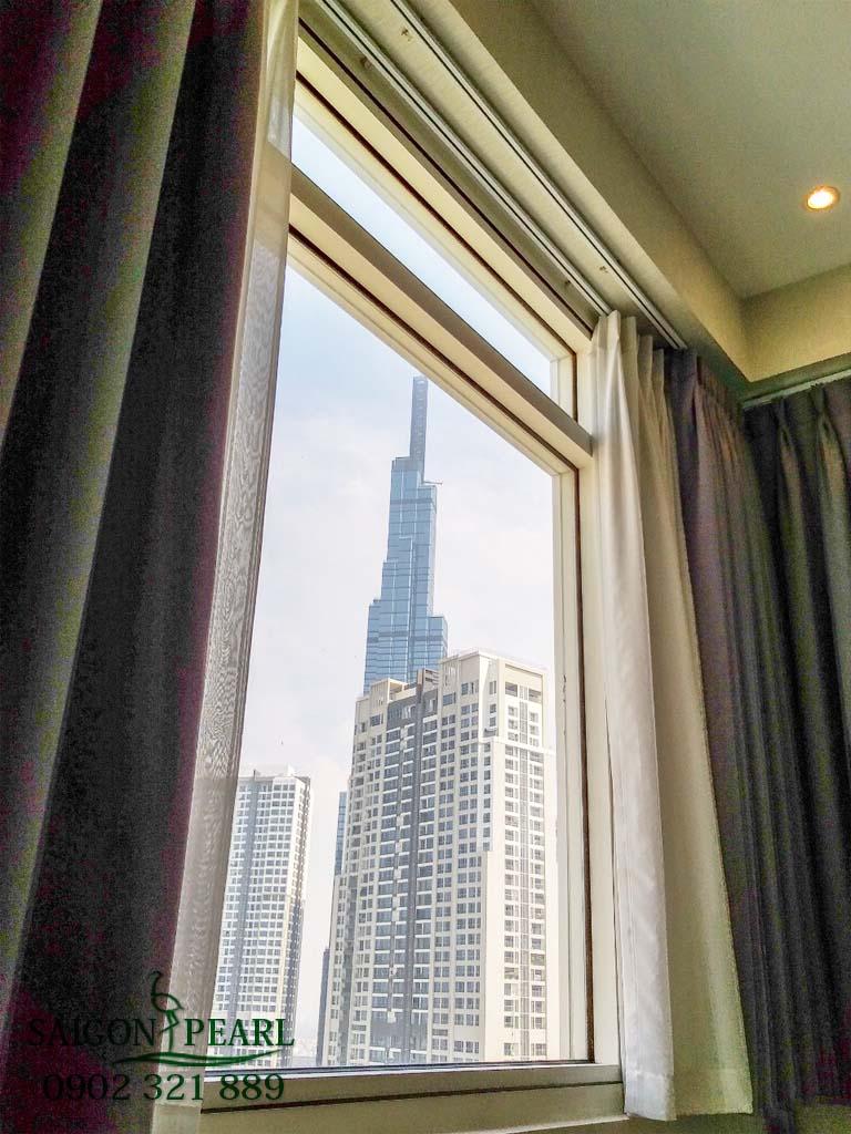 Căn hộ cực đẹp Sapphire 2 Saigon Pearl cho thuê 91m2 view Vinhomes 5