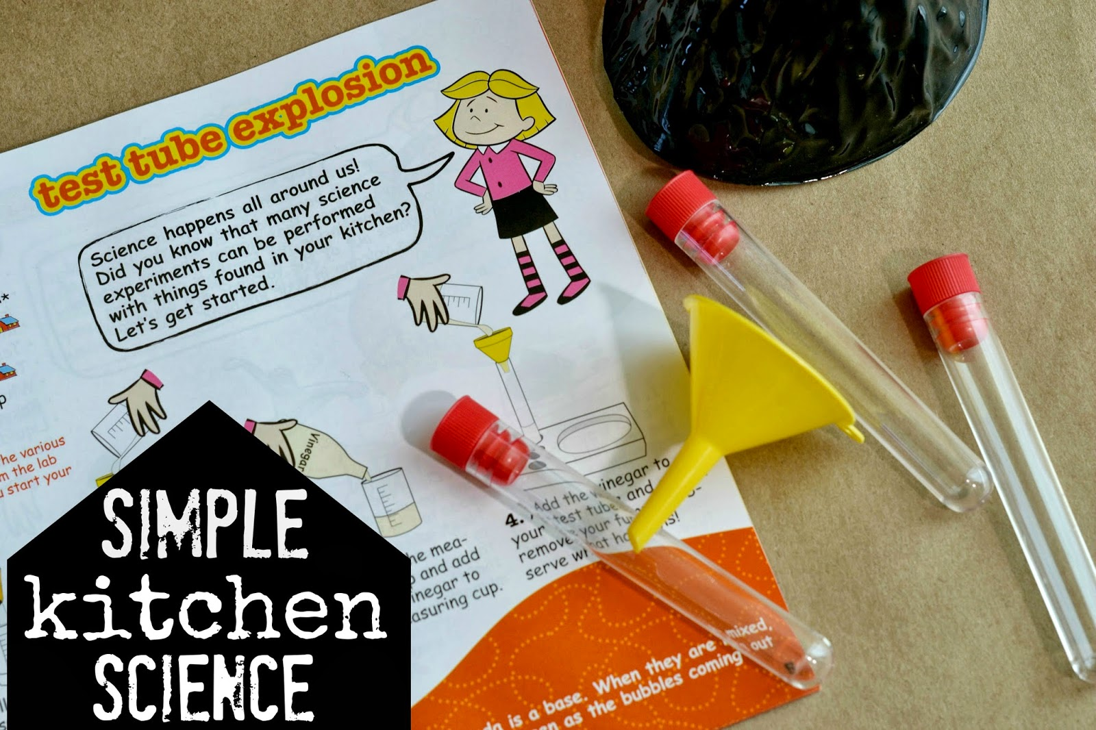 kitchen science bench seating for mommy testers simple with clifford preschool easy young scientists club