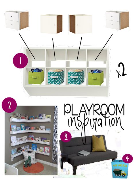 Children S And Kids Room Ideas Designs Inspiration: My Christmas Wish List: Playroom Storage! / The Wallace House