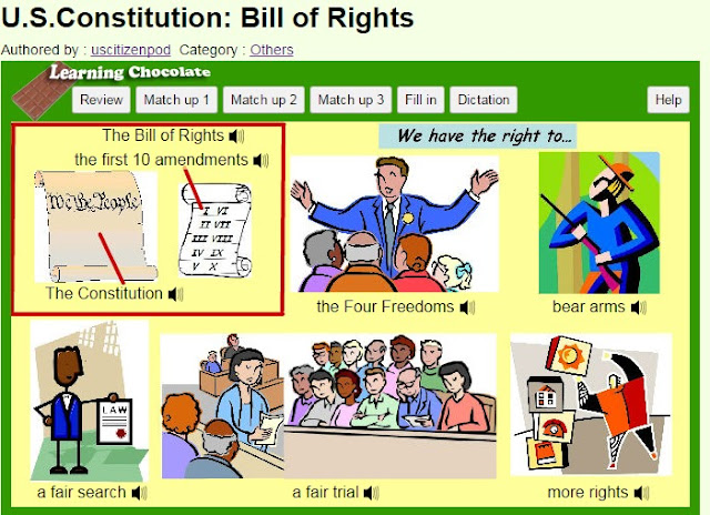 picture cartoon of constitution day