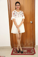 Lavanya Tripathi in Summer Style Spicy Short White Dress at her Interview  Exclusive 273.JPG
