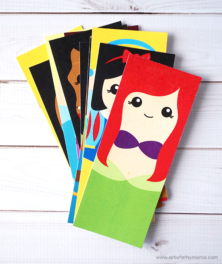 Free Printable Ultimate Disney Princess Bookmark Set