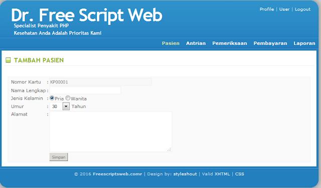 Script PHP, Program Web, Jaringan Lan