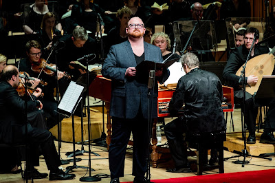 Handel: Brockes Passion - Nicky Spence, Academy of Ancient Music, Richard Egarr - Barbican (Photo Robert Workman)