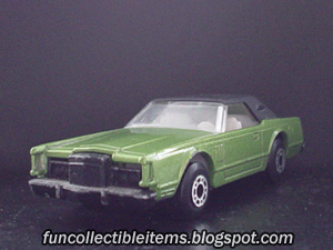 Lincoln Continental | Matchbox Car