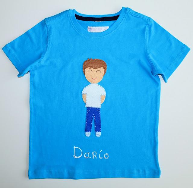 camiseta personalizada niños
