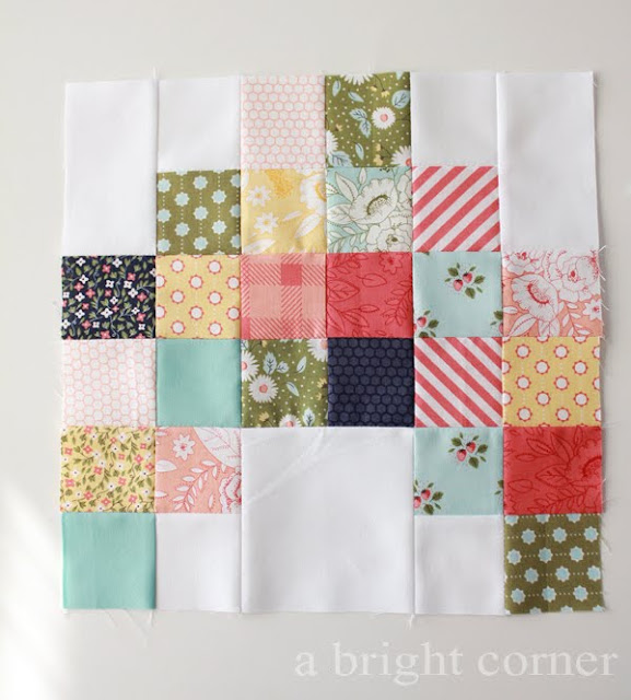 Little Miss Sunshine quilt made by A Bright Corner