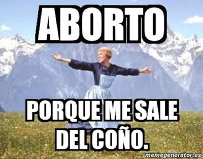 Meme del aborto
