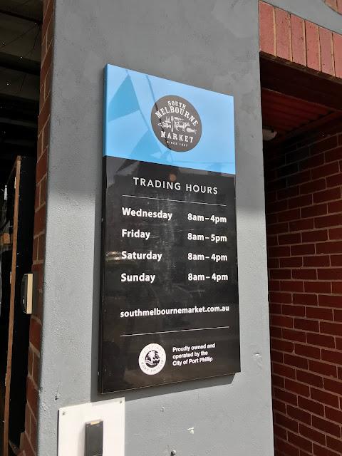 Melbourne, South Melbourne Market