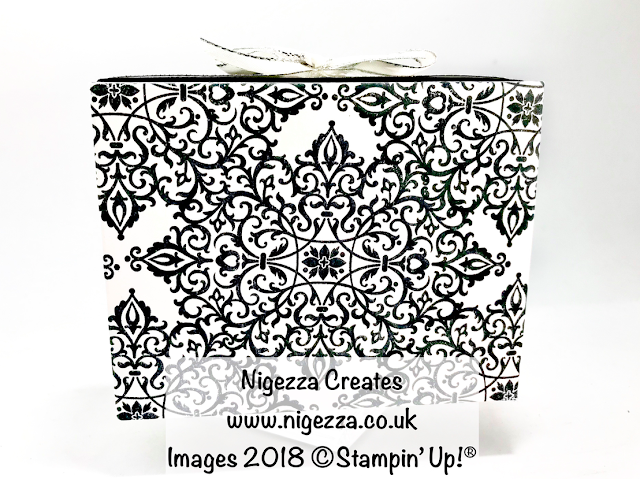 Nigezza Creates Flourish Filigree gift box Pootlers blog hop