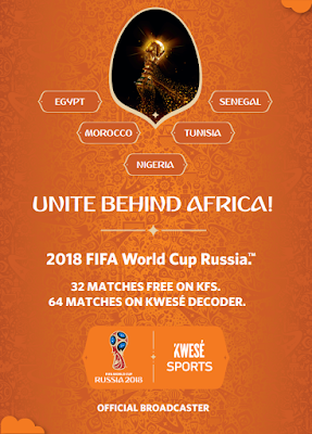 Catch Your Favourite African Teams At The 2018 World Cup On Kwesé It's World Cup season and as the whole of Africa gears up to rally