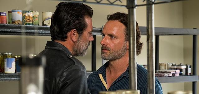 """Negan y Rick en el 7x04 """"Service"""" de 'The Walking Dead'"""