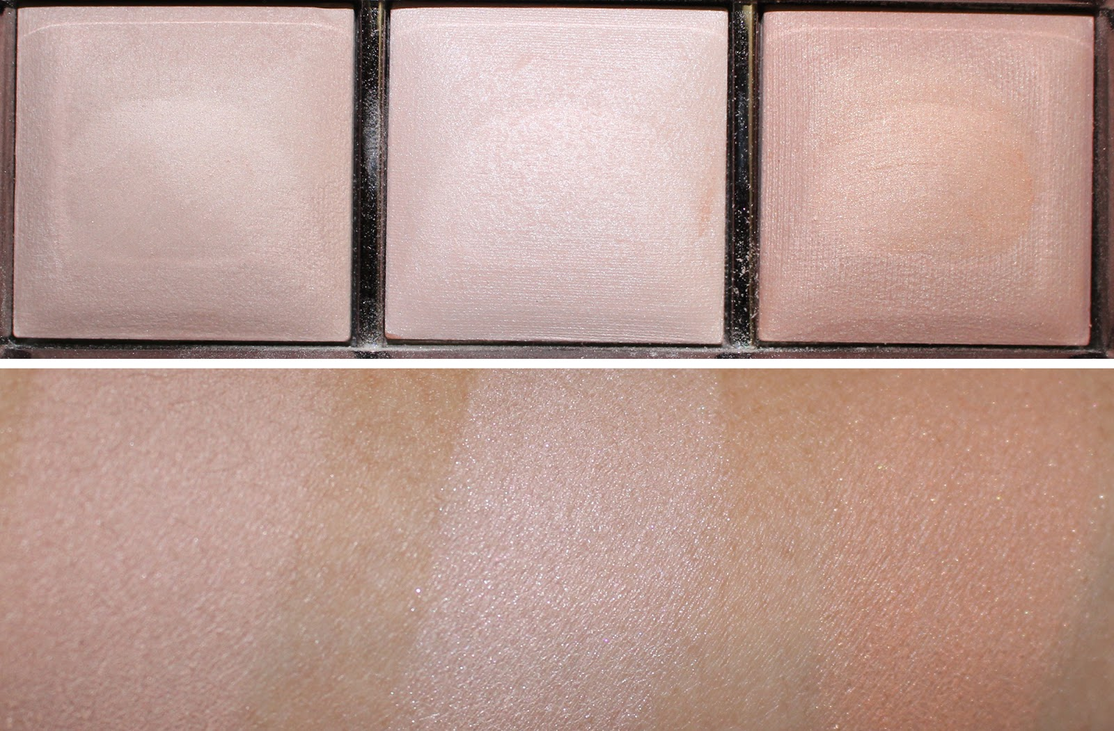 hourglass ambient lighting palette review. Black Bedroom Furniture Sets. Home Design Ideas