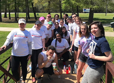 UIS students spend Alternative Spring Break helping with Hurricane Harvey relief in Texas