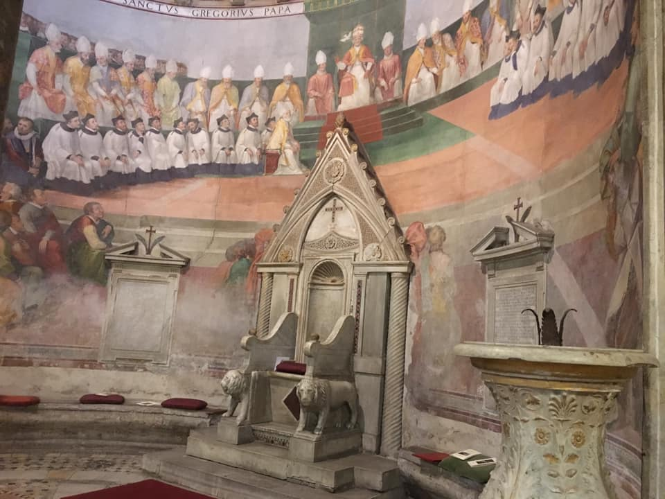 New Liturgical Movement: Roman Pilgrims at the Station