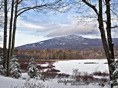 Mount Monadnock Perkins Pond, East Hill Farm, Troy, New Hampshire