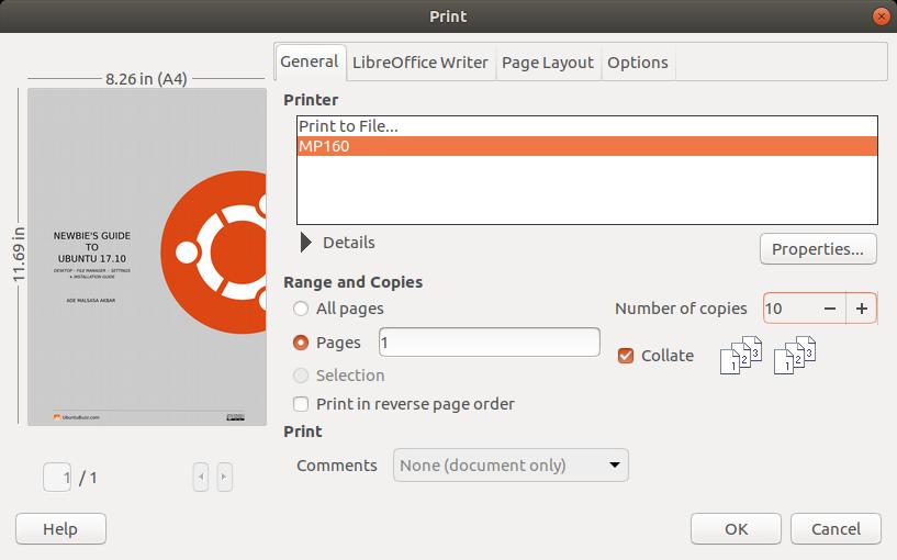 Ubuntu Buzz !: Printing on Ubuntu 18 04 and Trisquel 8 0