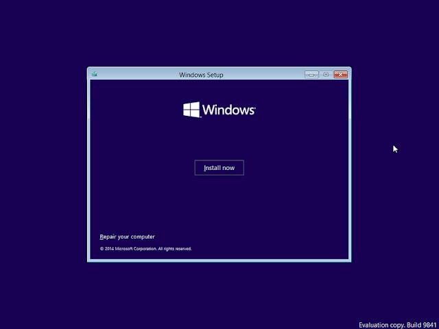 install windows 10 menggunakan flashdisk dengan rufus