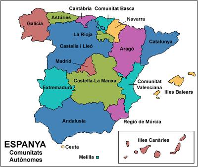 Mapa Interactiu Provincies Espanya.Mestre A Casa Ciencies Socials