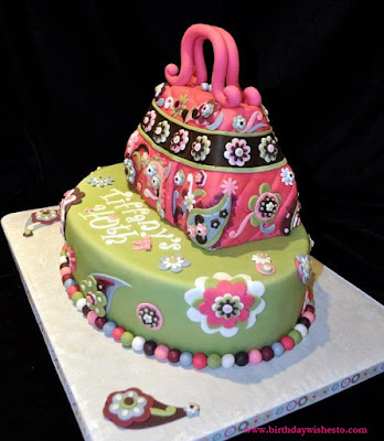 Shopping Bag Birthday Cakes